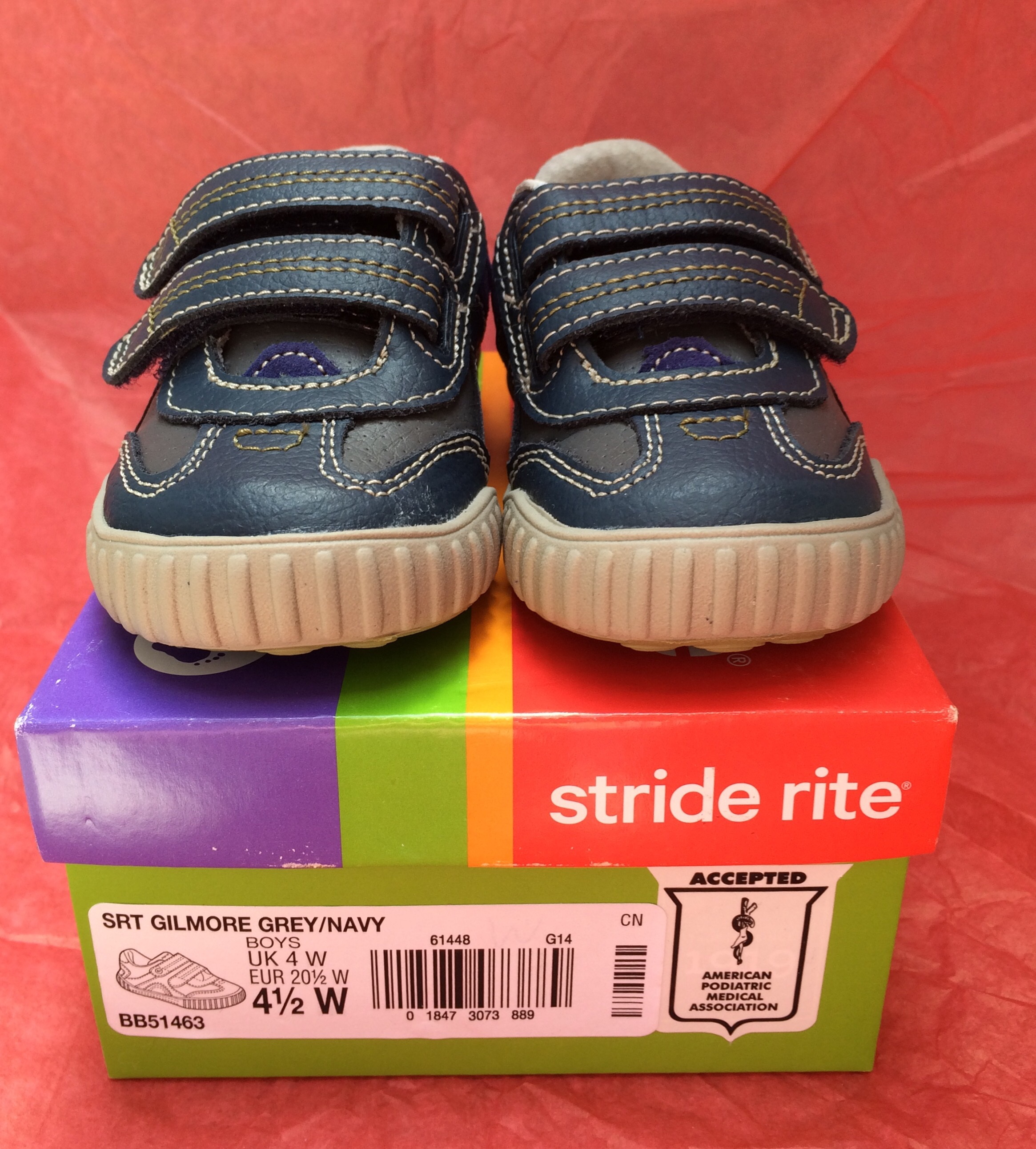 Stride Rite Gilmore – The Mint Chip Mama