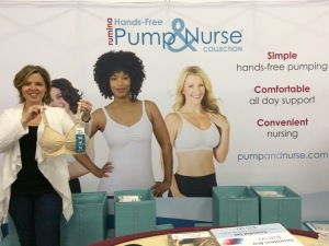 The New York Baby Show - Rumina Seamless Pump&Nurse Nursing Bra
