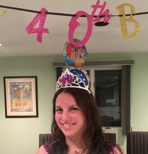 The Mint Chip Mama - This is 40 (and 7 months...)