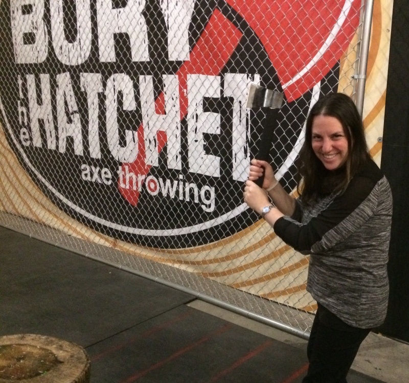 Bury The Hatchet, Brooklyn – Axe Throwing At It's Best! – The Mint