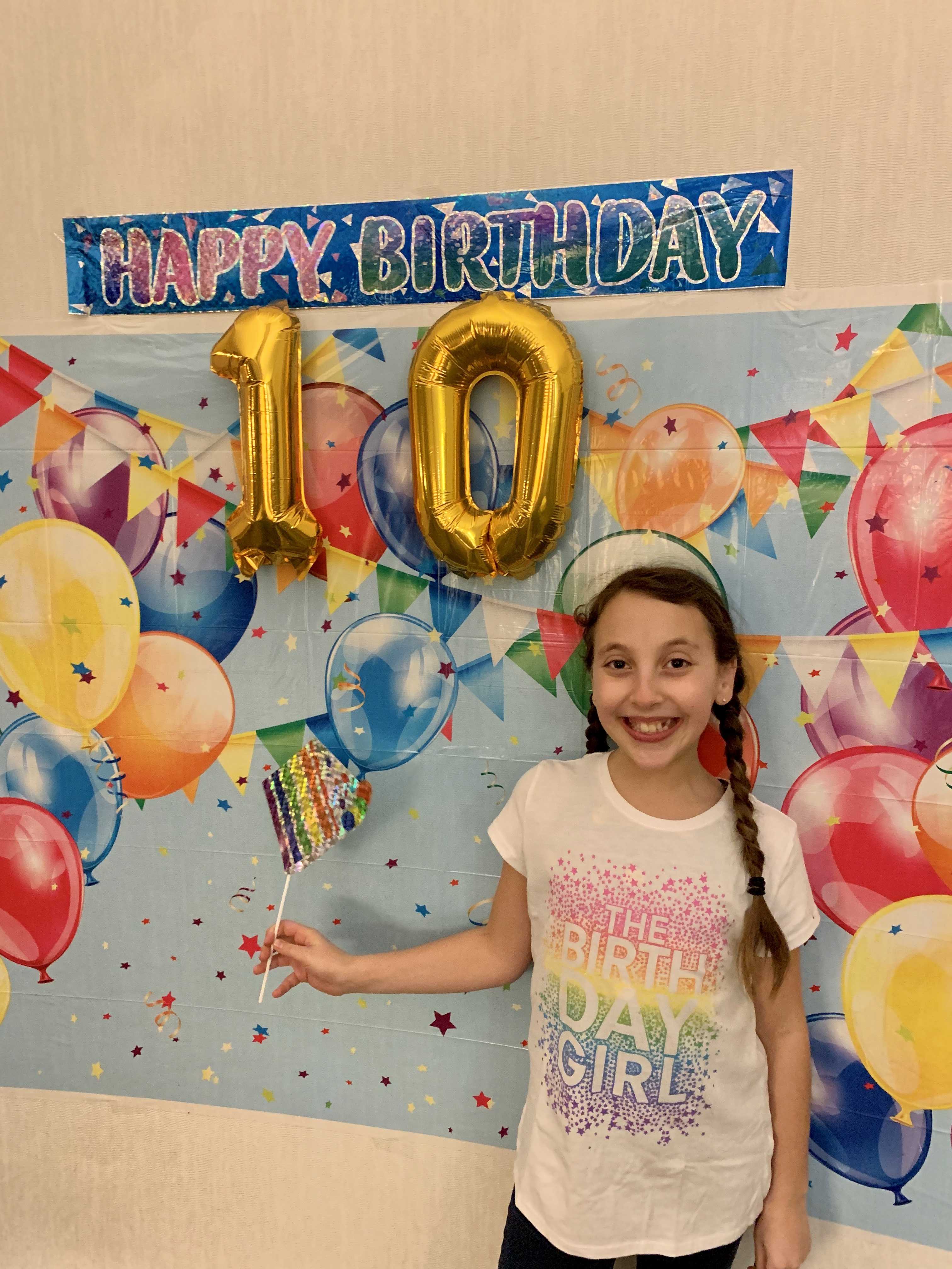 X My Daughter is 10! X